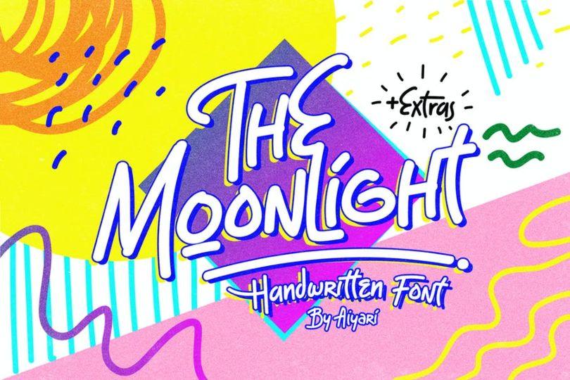 Handwritten Moonligh Fonts