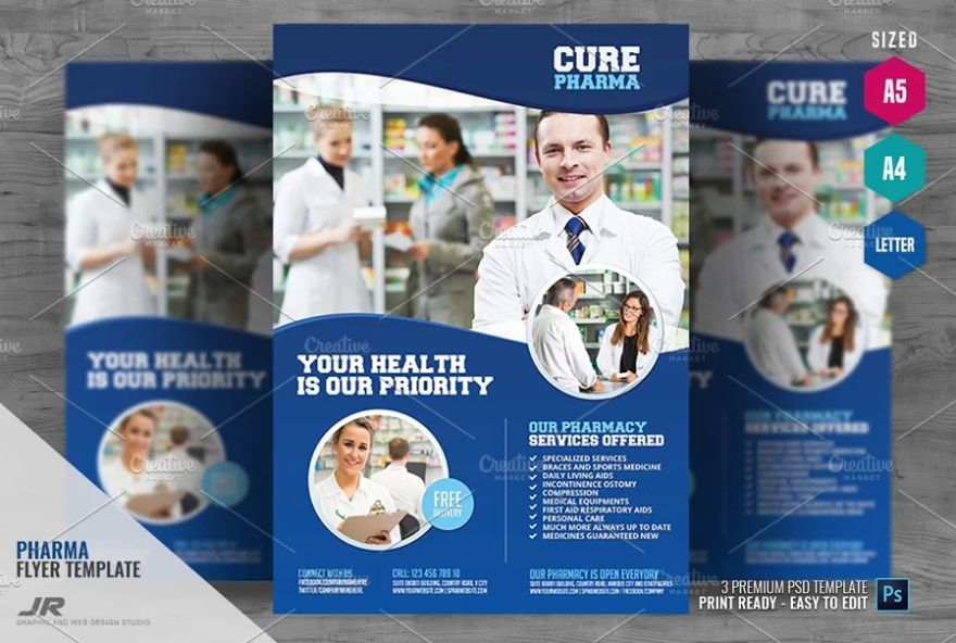 Health Services Flyer Templates
