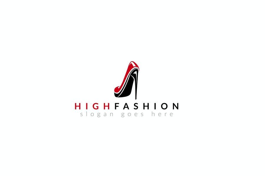 High Heels Logo Design