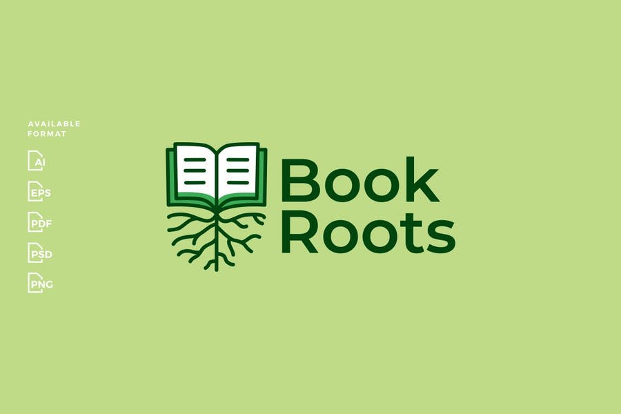 High Quality Book Root Logo