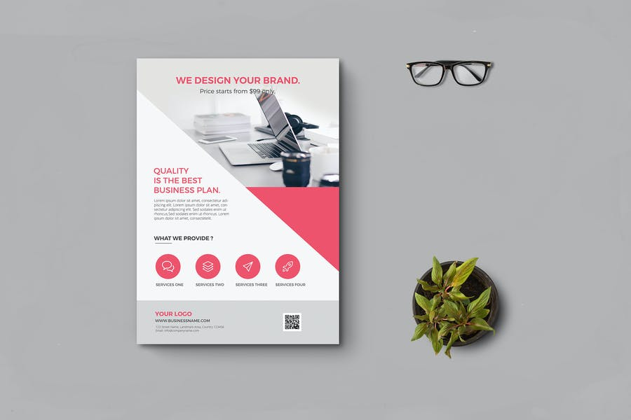 High Quality Business Flyers