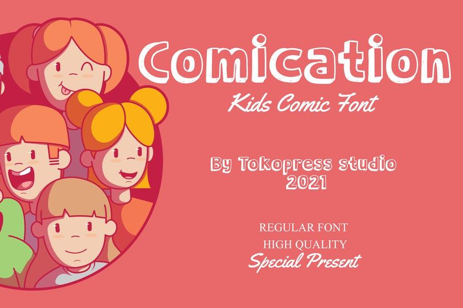 High Quality Comic Kids Font