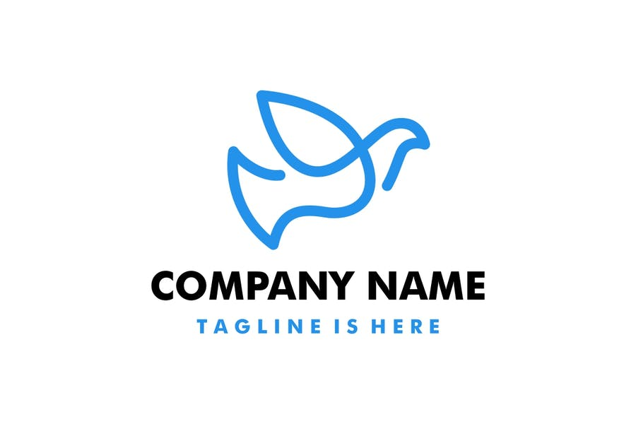 High Quality Dove Logo Design