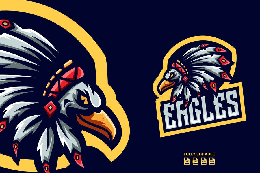 High Quality Eagle Logo Templates