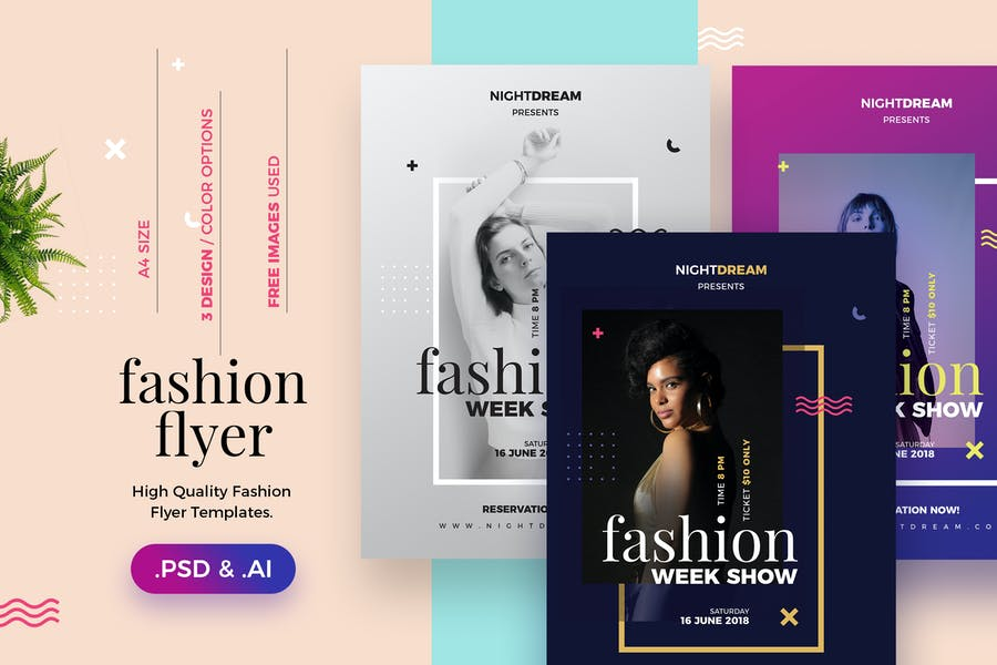 High Quality Fashion Flyer Template