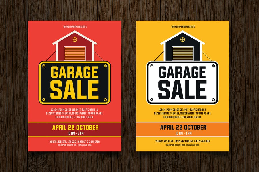 High Quality Sale Flyer Template