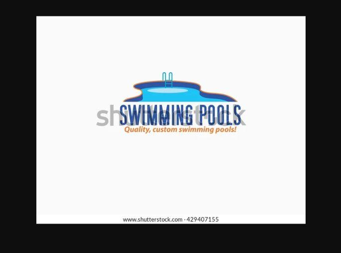 High Quality Swimming Pool Logo