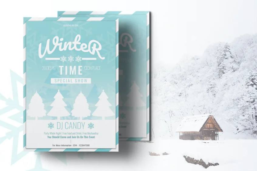 High Quality Winter Flyers
