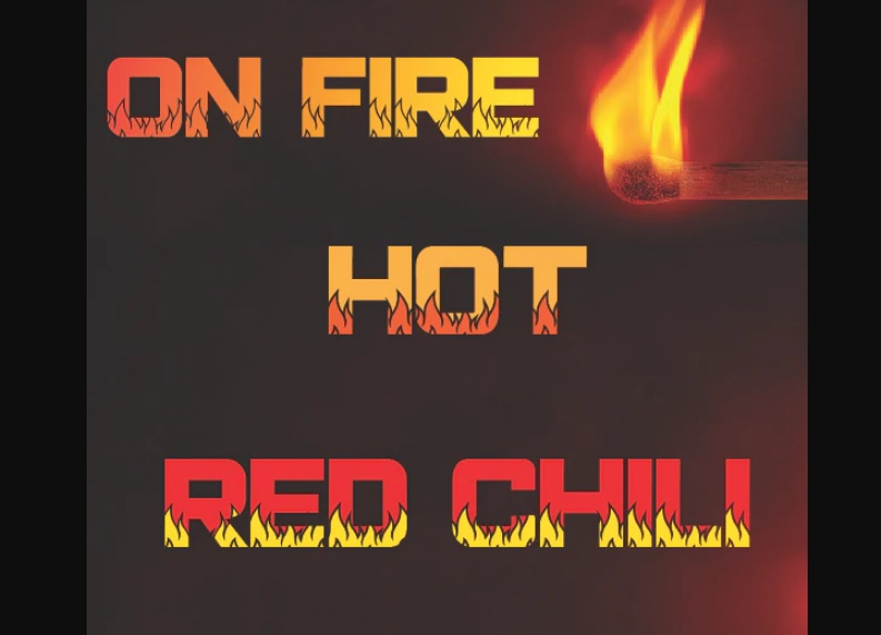 Hot Red Chilli Typeface