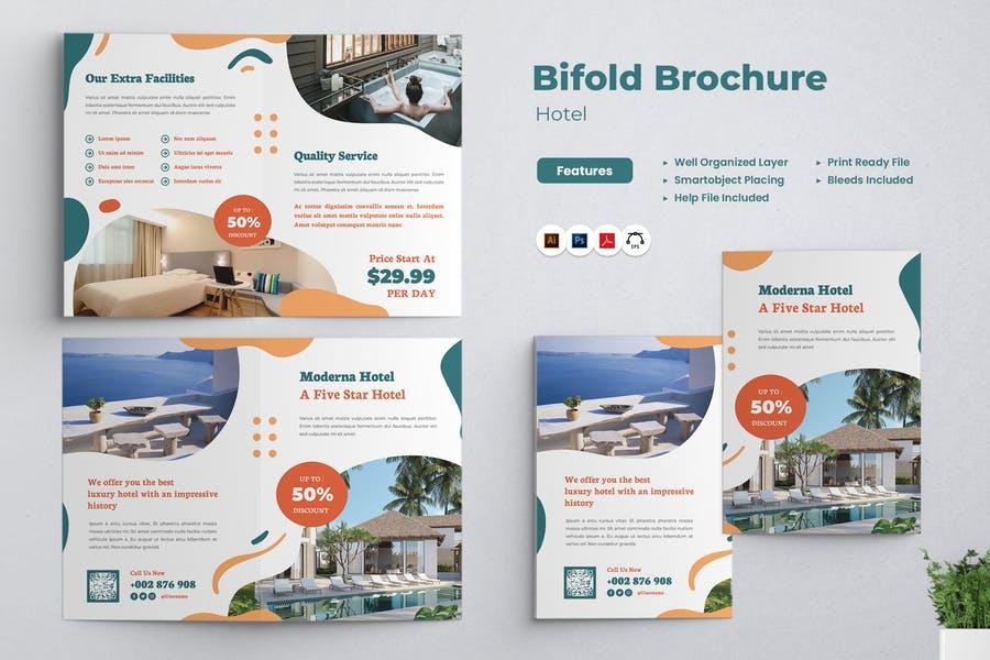 Hotel Bi Fold Brochure