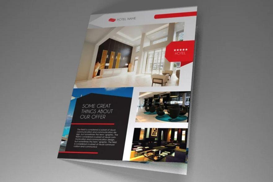Hotel Business Brochure Design