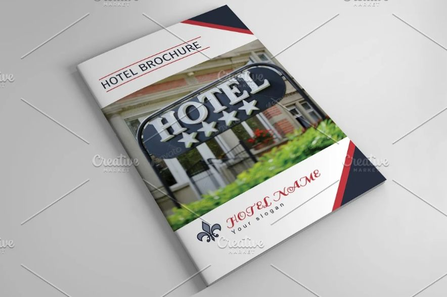 Hotel Promotional Brochure Template
