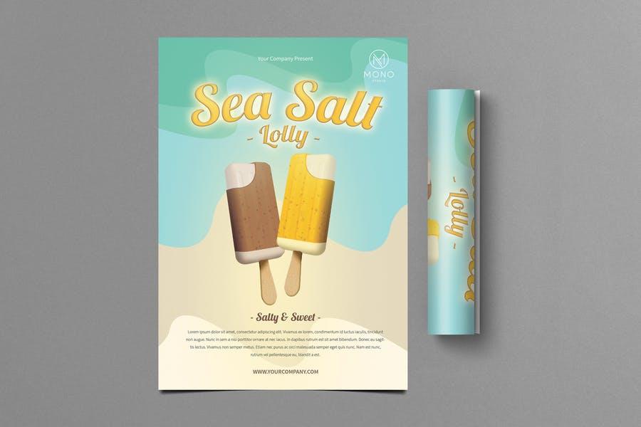 Ice Cream Branding Flyer