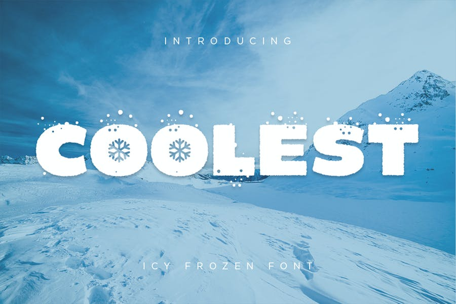 Icey Frozen Fonts