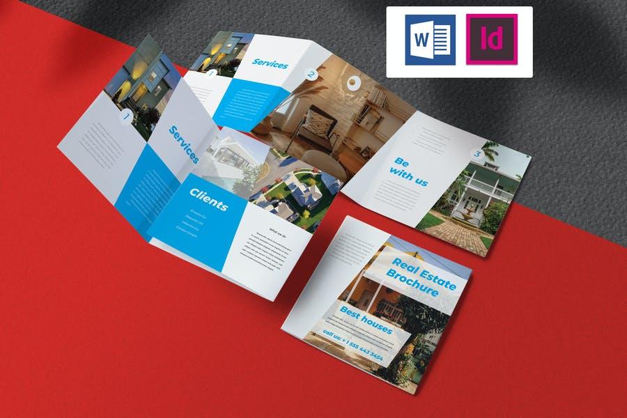 InDesign Real Estate Brochure Template