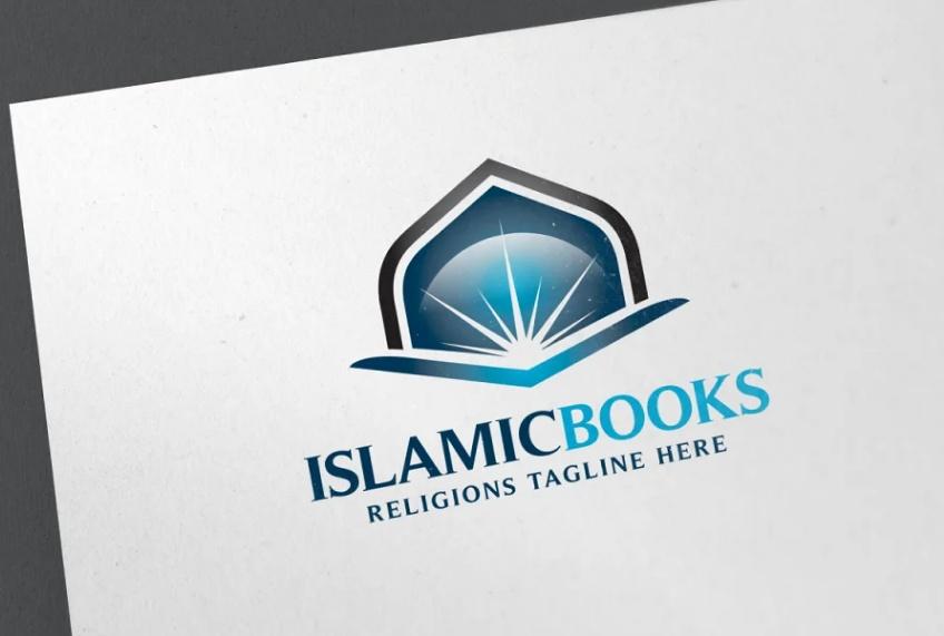 Islamic Book Logo Design Idea