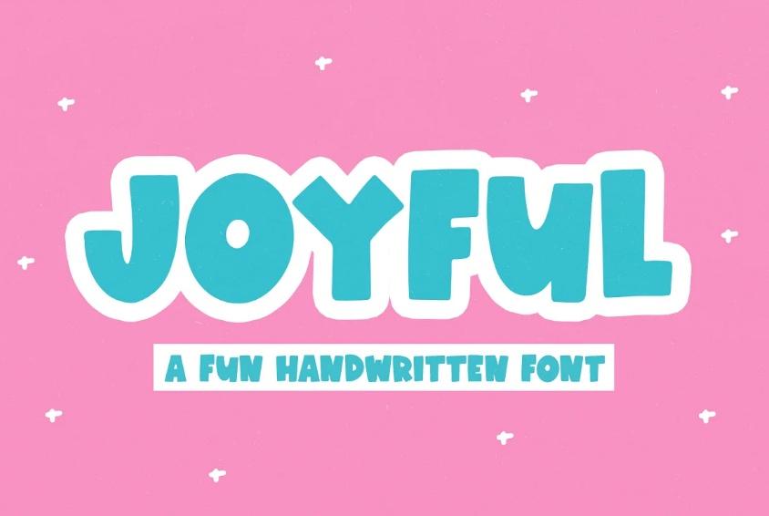 Joyful Handwritten Fonts