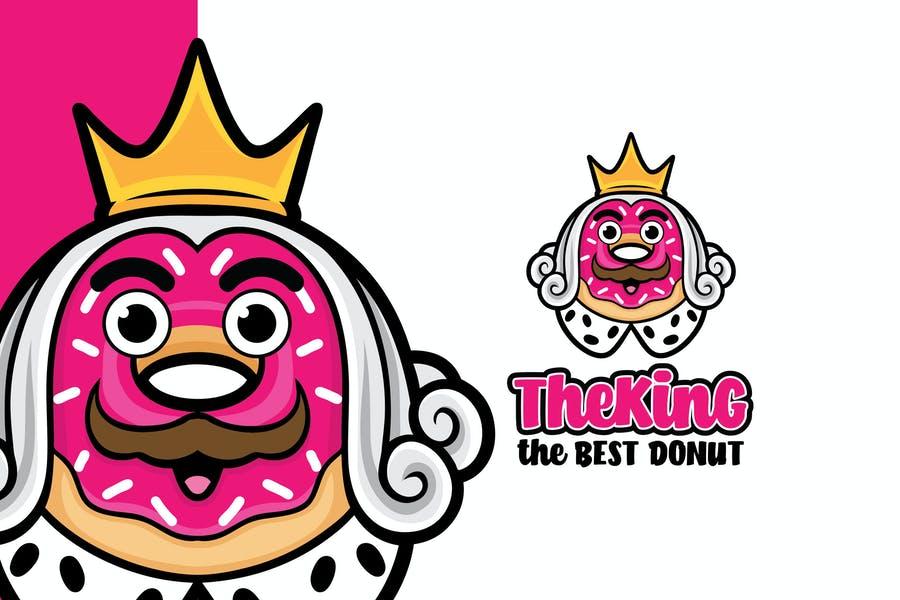 King Donut lotype