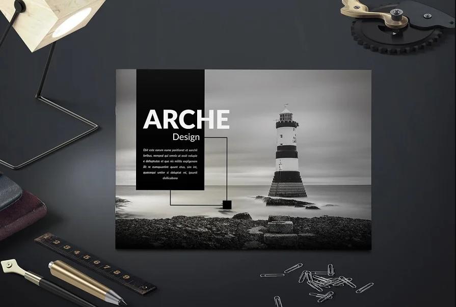 Landscape Architecture Brochure Design