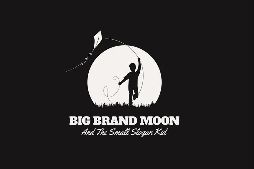 Large Moon Logo Idea