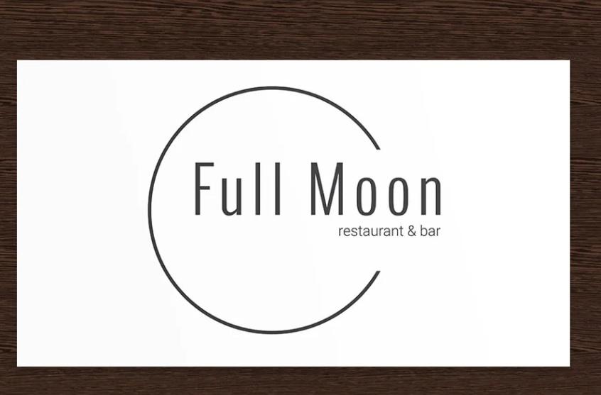 Linear Full Moon Logo
