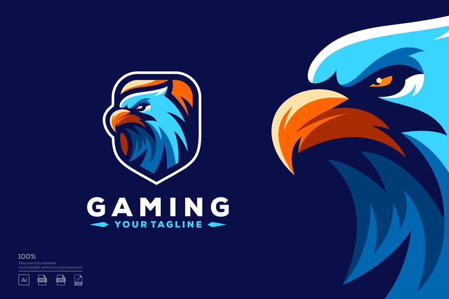 Logo Design Idea for Gaming