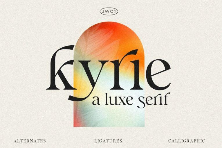 Luxury Calligraphy Fonts