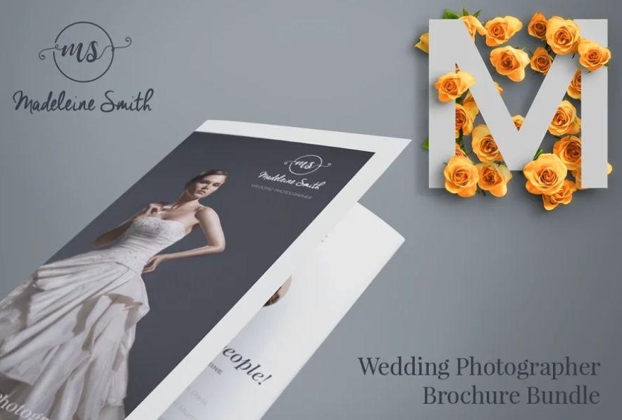 20+ Creative Wedding Services Brochure Template Download