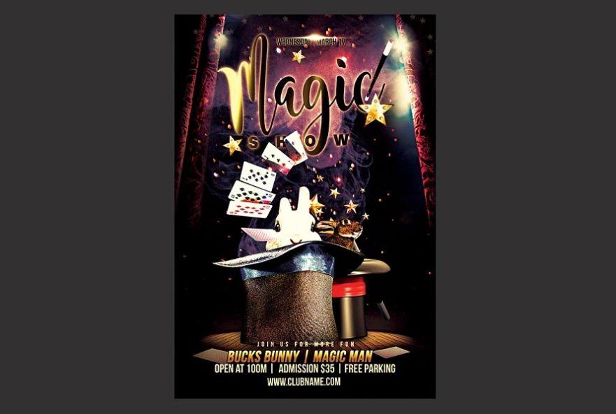 Magic Event Flyer Design