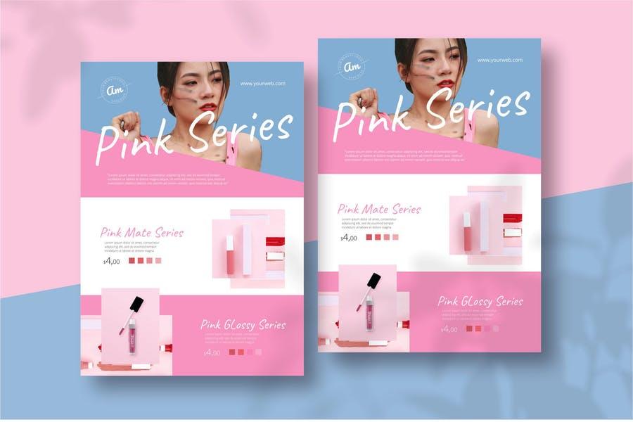 Makeup Flyer Designs