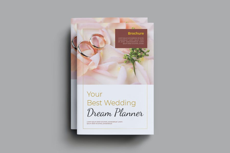 Marriage Services Brochure Templates