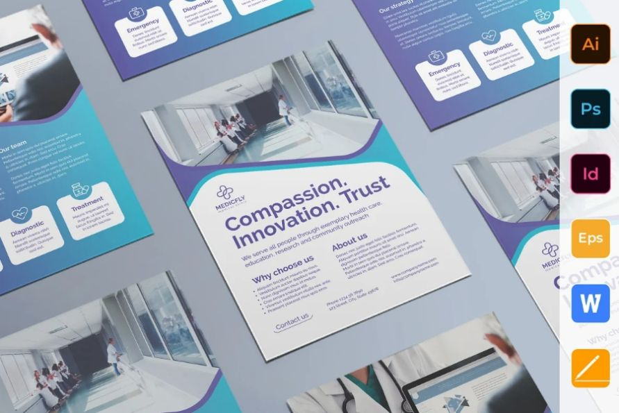 Medical Clinic Flyer Templates