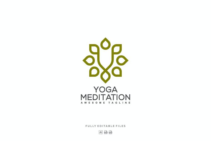 Meditation Center Logotype