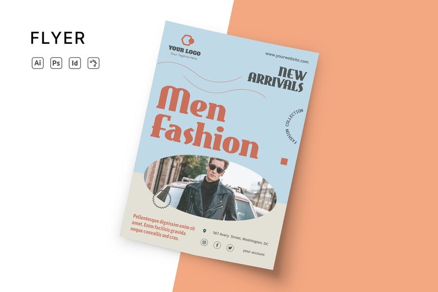 Mens Fashion Show Template