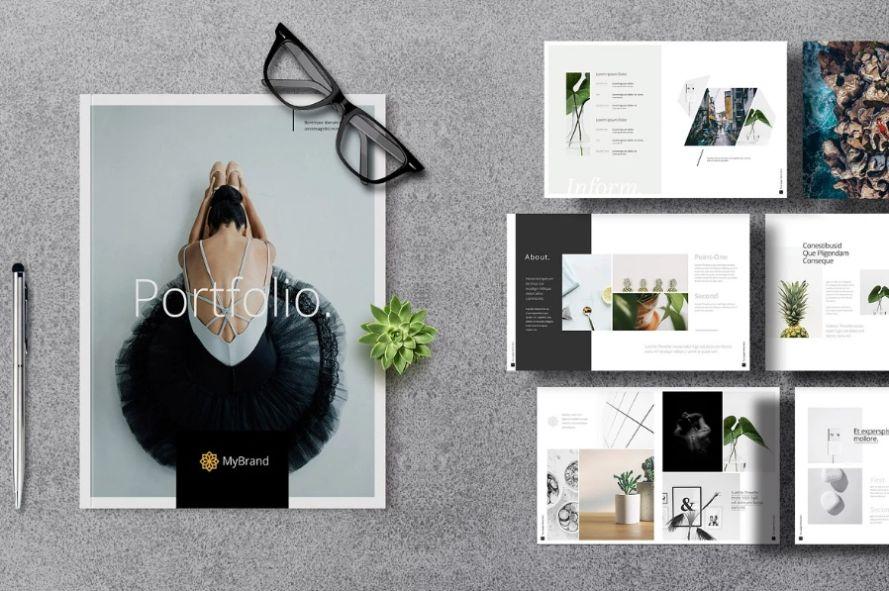 Miniamal Photography Brochure Template