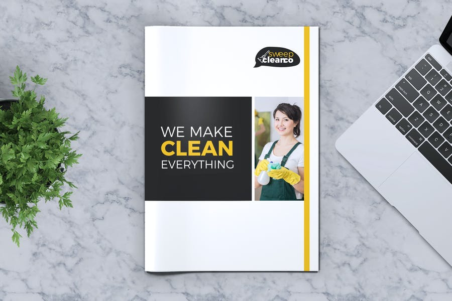 Minimal Cleaning Services Brochure