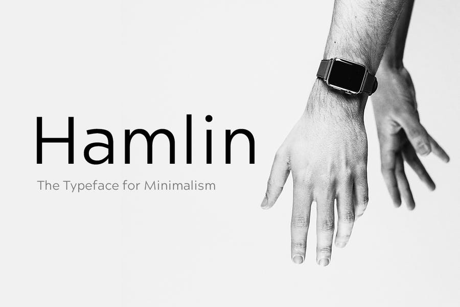 Minimal Gotham Fonts for Logotypes