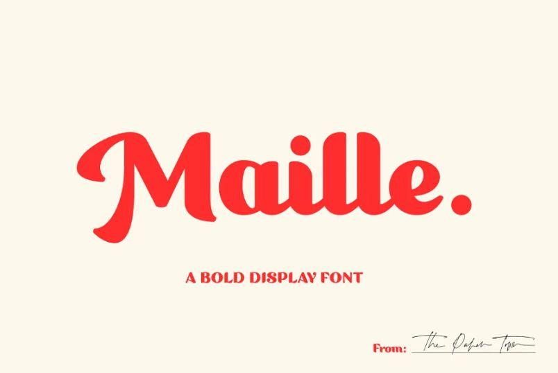 Minimal Style Bold Script