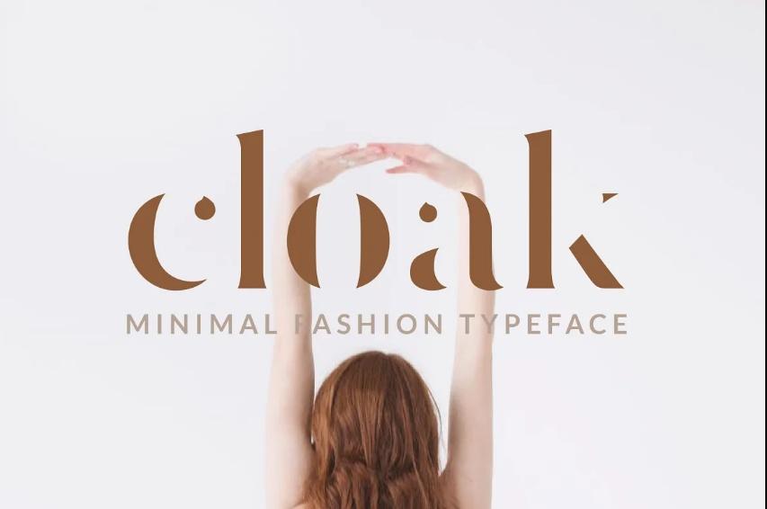 Minimal Style Fashion Typeface