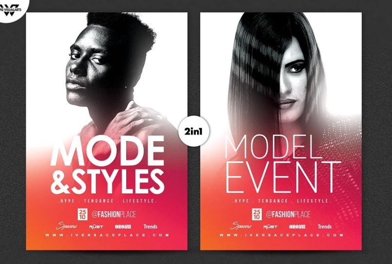Mode and Styles Flyer