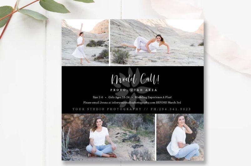 Model Casting Call Flyey