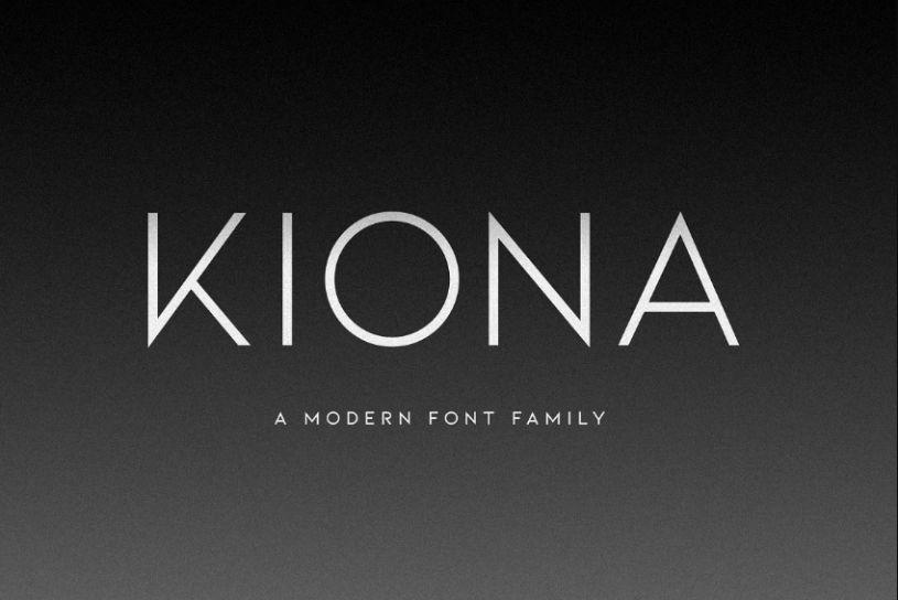 Modern Fashion Font Family