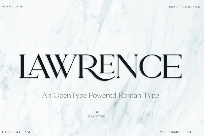 Modern Fashion Typeface