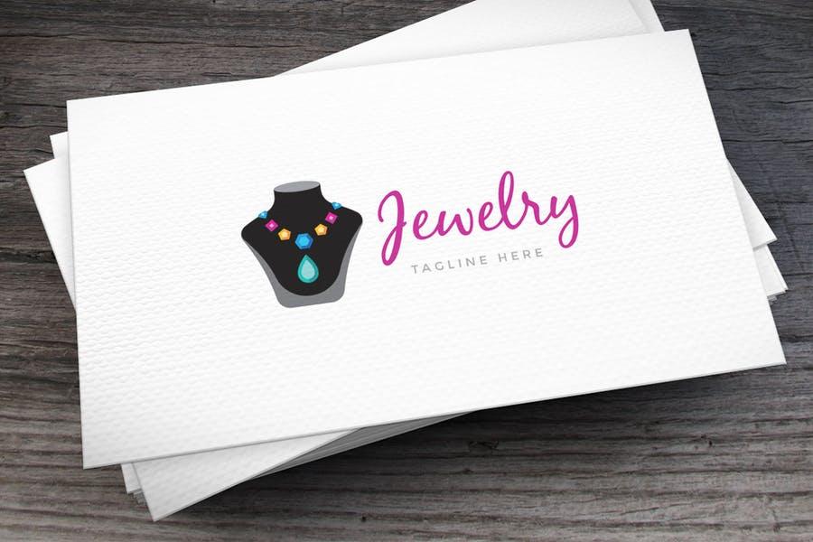 Modern Jewelry Logo Design