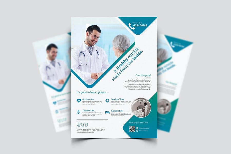 Modern Medical marketing Flyer