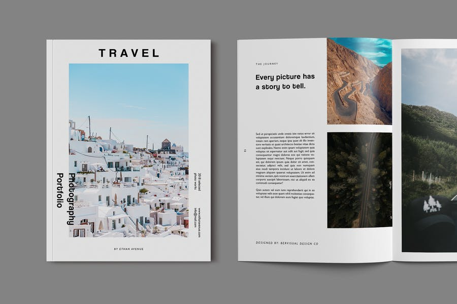 Modern Photography Brochure Templates