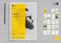 Modern Proposal Brochure Template