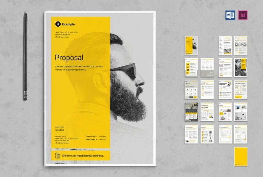 21+ Best Proposal Brochure Template Download