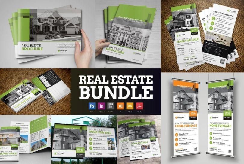 Modern Real Estate Brochure Bundle