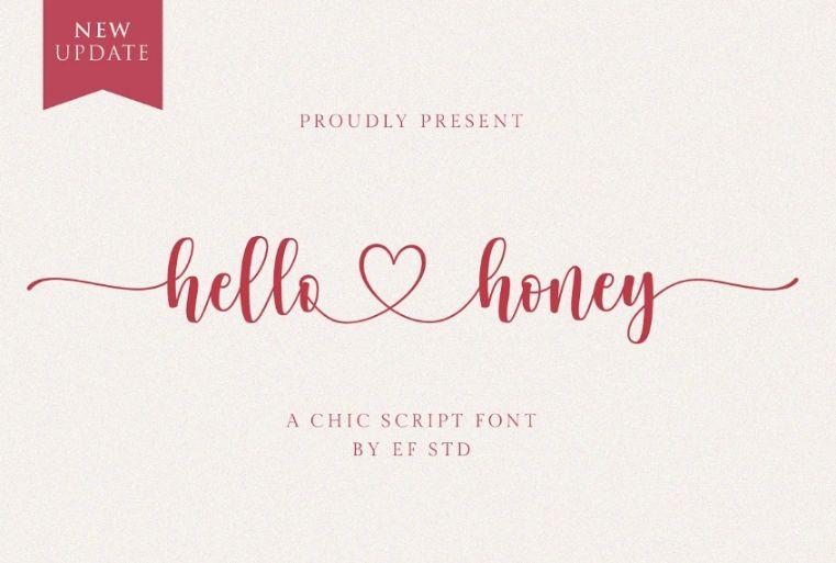 Romantic Chic Fonts